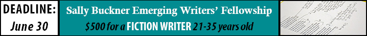 Sally Buckner Emerging Writers' Fellowship